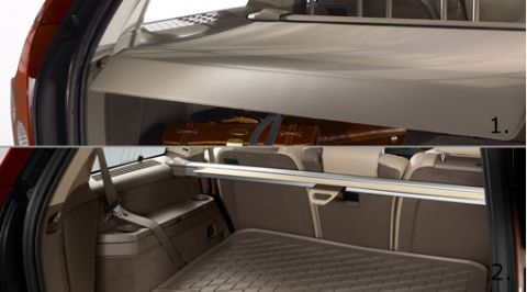 XC90 Luggage compartment cover